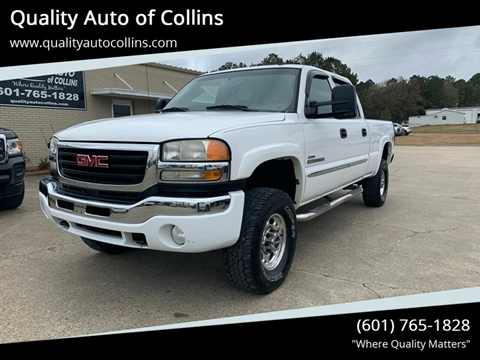 2007 GMC Sierra 2500HD Classic for sale in Collins, MS