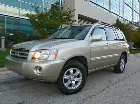 2002 Toyota Highlander for sale at VK Auto Imports in Wheeling IL