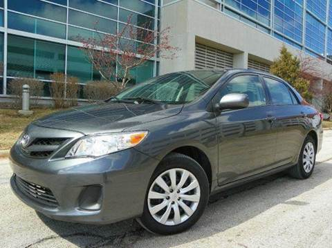 2012 Toyota Corolla for sale at VK Auto Imports in Wheeling IL