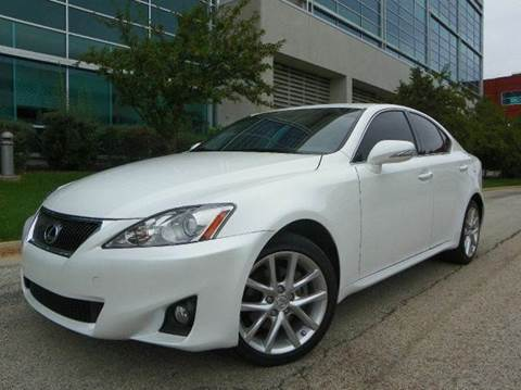 2012 Lexus IS 250 for sale at VK Auto Imports in Wheeling IL