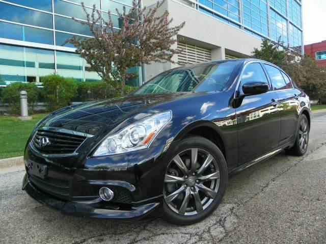 2012 Infiniti G37 Sedan X Sport Appearance Edition AWD 4dr Sedan   Wheeling  IL