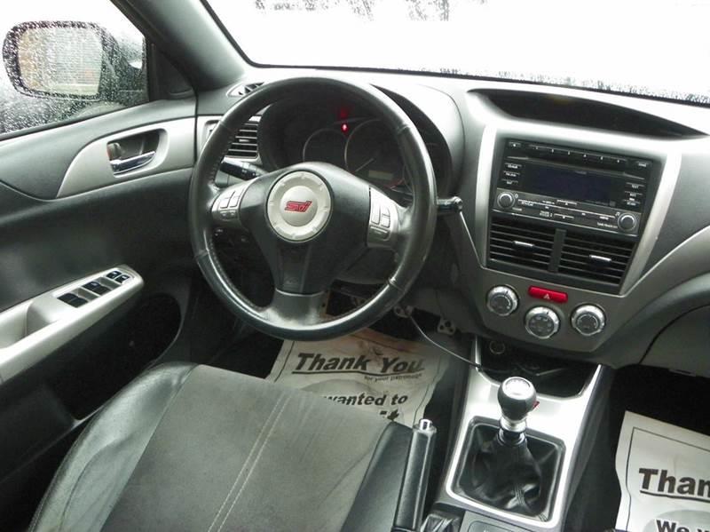2008 Subaru Impreza Wrx Sti Awd 4dr Wagon Wsilver Bbs Wheels In