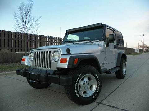 2003 Jeep Wrangler for sale at VK Auto Imports in Wheeling IL