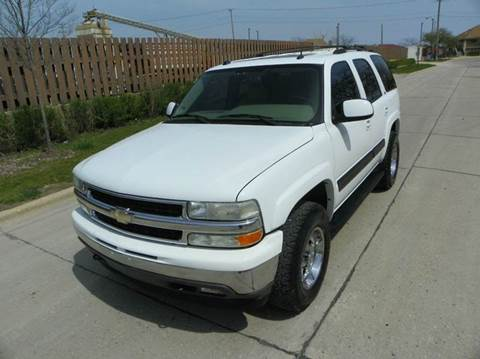 2005 Chevrolet Tahoe for sale at VK Auto Imports in Wheeling IL