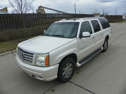 2004 Cadillac Escalade ESV for sale at VK Auto Imports in Wheeling IL