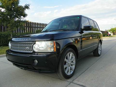 2008 Land Rover Range Rover for sale at VK Auto Imports in Wheeling IL