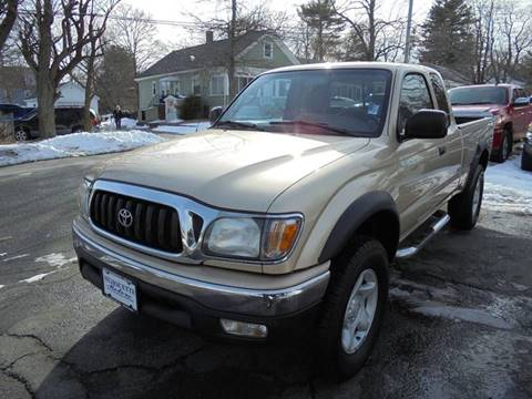 2002 Toyota Tacoma For Sale In Massachusetts