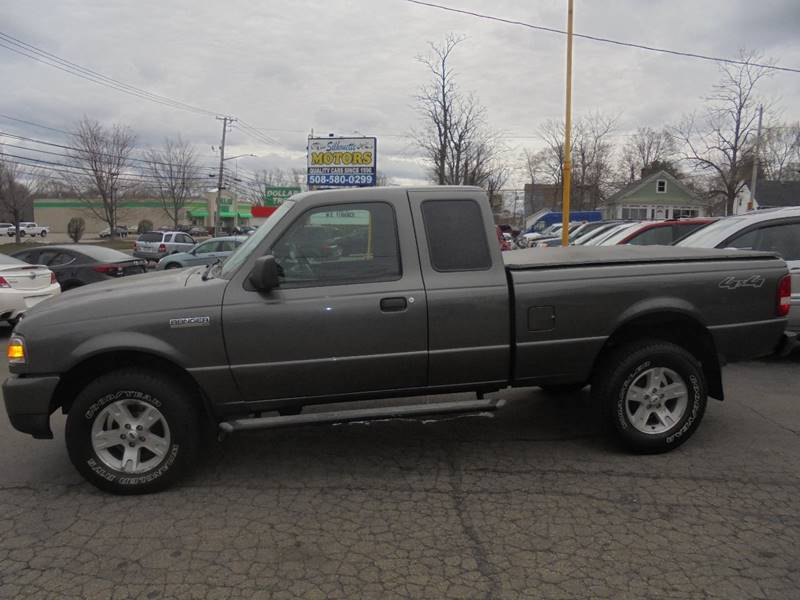 2006 Ford Ranger Xlt 2dr Supercab 4wd Sb In Brockton Ma Silhouette