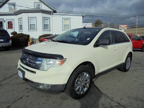 Ford Edge Awd Limited Dr Crossover