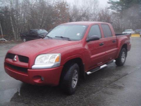 2007 Mitsubishi Raider for sale at Manchester Motorsports in Goffstown NH