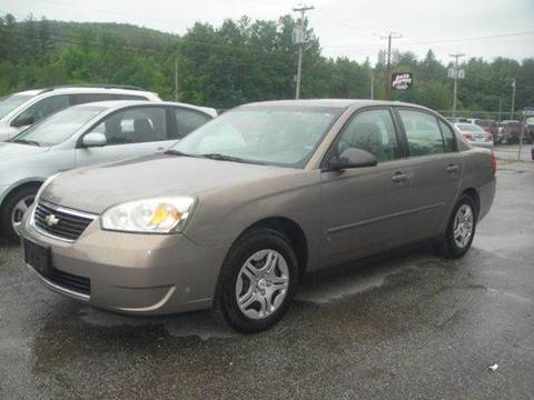 2007 Chevrolet Malibu for sale at Manchester Motorsports in Goffstown NH