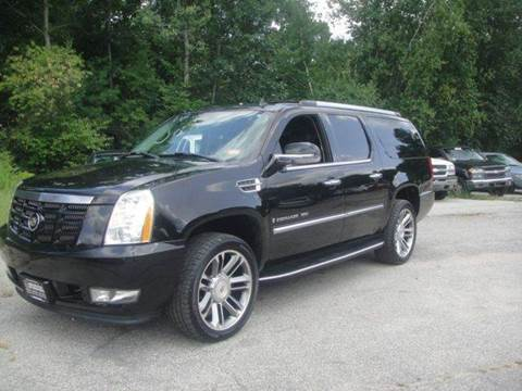 2007 Cadillac Escalade ESV for sale at Manchester Motorsports in Goffstown NH