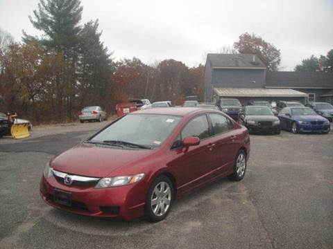 2010 Honda Civic for sale at Manchester Motorsports in Goffstown NH