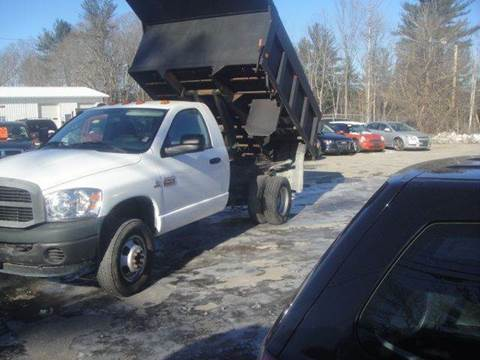 2007 Dodge Ram Chassis 3500 for sale at Manchester Motorsports in Goffstown NH