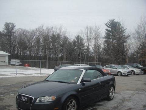 2007 Audi A4 for sale at Manchester Motorsports in Goffstown NH