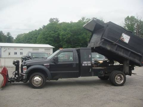 2008 Ford F-550 Super Duty for sale at Manchester Motorsports in Goffstown NH