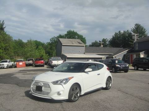2013 Hyundai Veloster Turbo for sale at Manchester Motorsports in Goffstown NH
