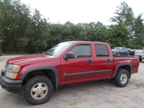 2006 Chevrolet Colorado for sale at Manchester Motorsports in Goffstown NH