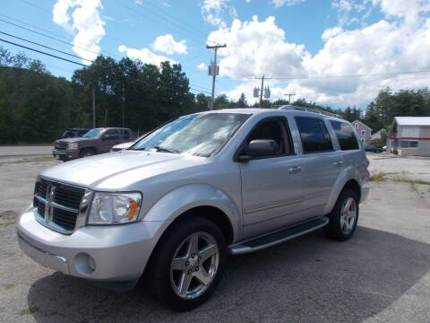 2008 Dodge Durango for sale at Manchester Motorsports in Goffstown NH