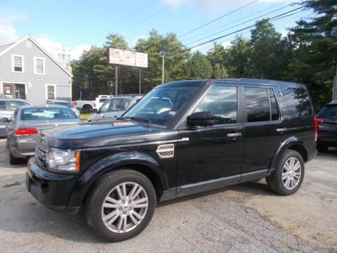 2011 Land Rover LR4 for sale at Manchester Motorsports in Goffstown NH