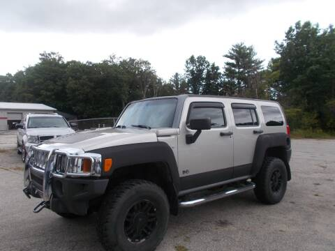 2007 HUMMER H3 for sale at Manchester Motorsports in Goffstown NH