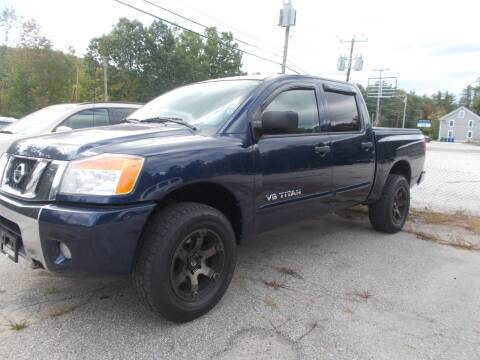 2010 Nissan Titan for sale at Manchester Motorsports in Goffstown NH