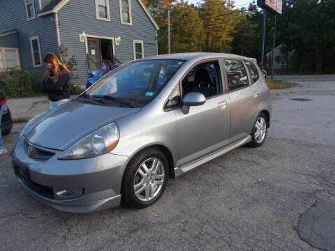 2008 Honda Fit for sale at Manchester Motorsports in Goffstown NH