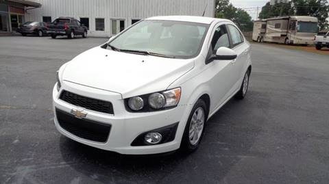 2012 Chevrolet Sonic for sale at CAROLINA MOTORS in Thomasville NC