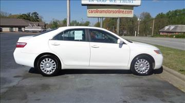 2009 Toyota Camry for sale at CAROLINA MOTORS in Thomasville NC