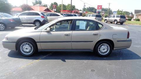 2001 Chevrolet Impala for sale at CAROLINA MOTORS in Thomasville NC