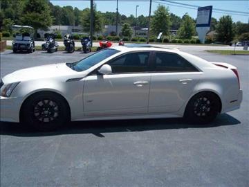 2010 Cadillac CTS-V for sale at CAROLINA MOTORS in Thomasville NC