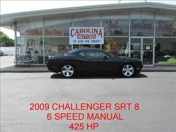 2009 Dodge Challenger for sale at CAROLINA MOTORS in Thomasville NC