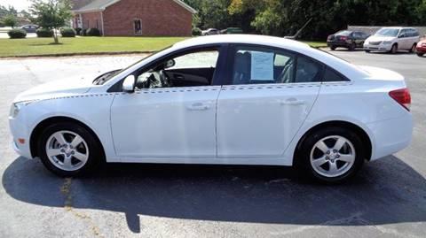 2013 Chevrolet Cruze for sale at CAROLINA MOTORS in Thomasville NC