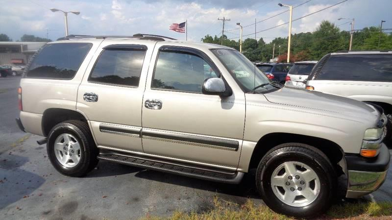 2004 Chevrolet Tahoe for sale at CAROLINA MOTORS in Thomasville NC