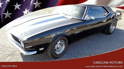 Used 1968 Chevrolet Camaro For Sale Carsforsalecom