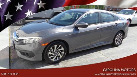 2016 Honda Civic for sale in Thomasville, NC