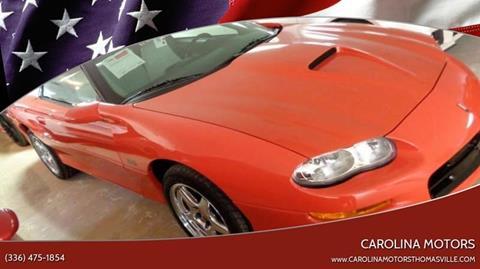 1999 Chevrolet Camaro for sale in Thomasville, SC