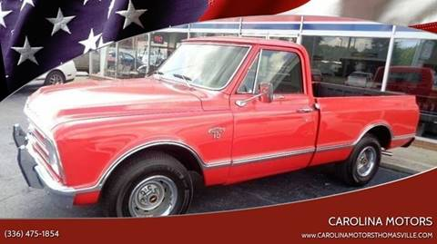 1967 Chevrolet C/K 1500 Series for sale in Thomasville, SC