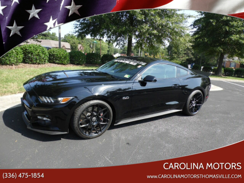 2016 Ford Mustang for sale at CAROLINA MOTORS - Carolina Classics & More-Thomasville in Thomasville NC