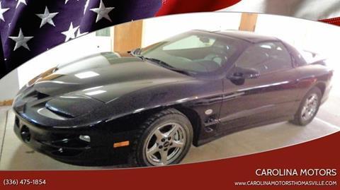 2002 Pontiac Firebird for sale in Thomasville, SC