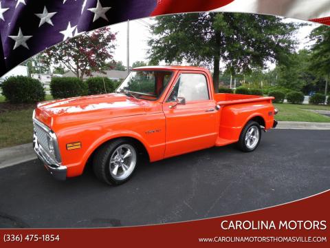 1972 Chevrolet C/K 10 Series for sale at CAROLINA MOTORS - Carolina Classics & More-Thomasville in Thomasville NC