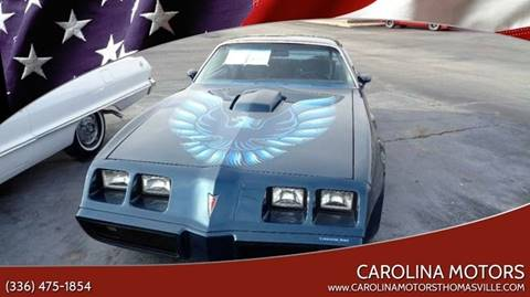 1979 Pontiac Trans Am for sale in Thomasville, SC