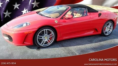 2006 Ferrari F430 for sale at CAROLINA MOTORS - Carolina Classics & More-Thomasville in Thomasville NC