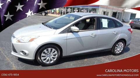 2013 Ford Focus for sale at CAROLINA MOTORS in Thomasville NC