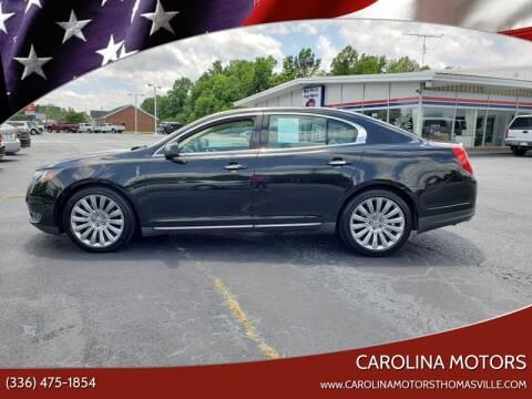 2013 Lincoln MKS for sale at CAROLINA MOTORS in Thomasville NC