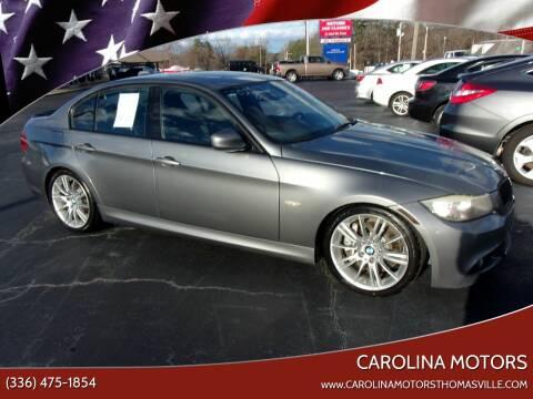 2011 BMW 3 Series 335i for sale at CAROLINA MOTORS in Thomasville NC