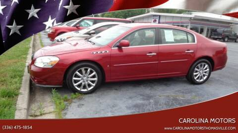 2006 Buick Lucerne CXS for sale at CAROLINA MOTORS in Thomasville NC