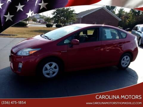 2010 Toyota Prius III for sale at CAROLINA MOTORS in Thomasville NC