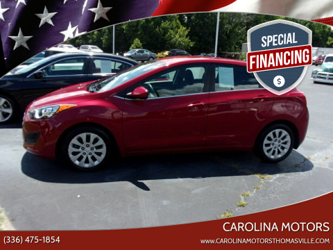 2016 Hyundai Elantra GT for sale at CAROLINA MOTORS in Thomasville NC