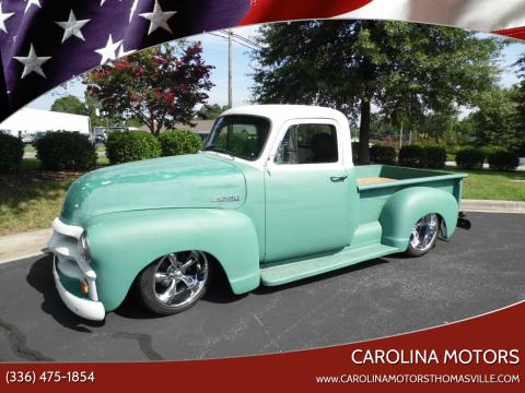 1954 Chevrolet J54 for sale at CAROLINA MOTORS in Thomasville NC